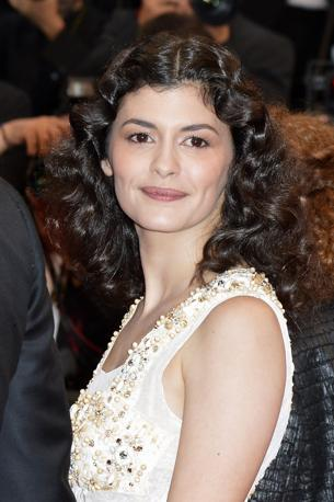 L&#39;attrice francese Audrey Tautou (Epa)