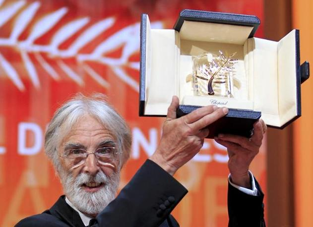 "Il regista Michael Haneke, vincitore della Palma d&#39;oro con il film ""Amour"" (Reuters)"