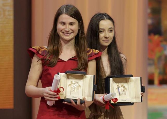 Le migliori attrici, le romene Cosmina Stratan e Cristina Flutur (Reuters)