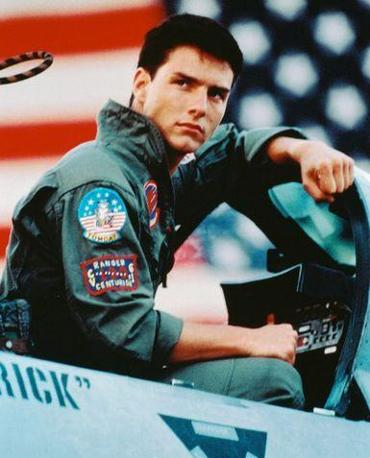 Tom Cruise in �Top Gun�