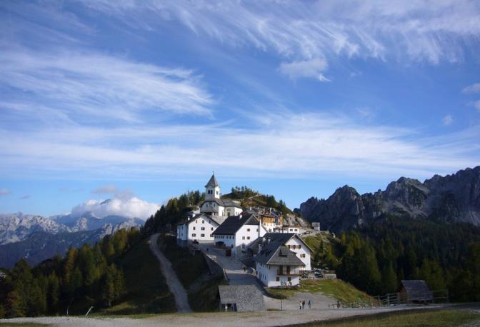Tarvisio (Udine): monte Lussari. Fotografia di Olymca (dal sito rete.comuni-italiani.it)