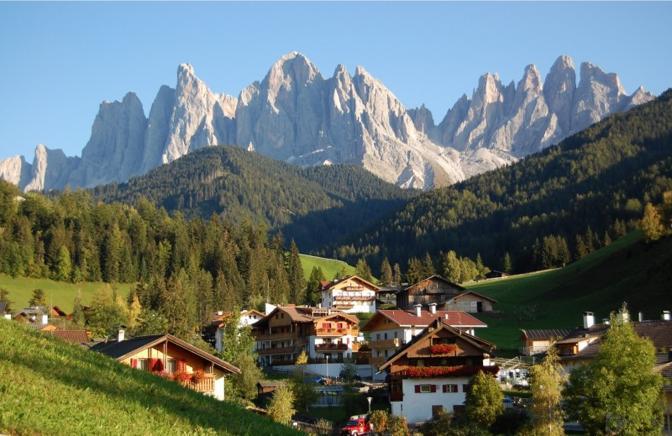 Funes (Bolzano): Santa Maddalena