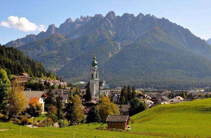 Dobbiaco (Bolzano). Fotografia di Gg60 (dal sito rete.comuni-italiani.it)