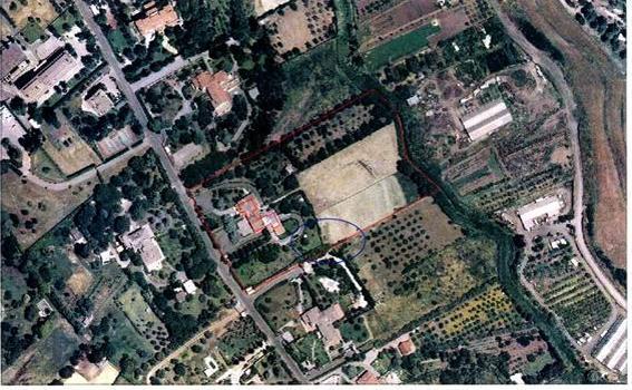Il terreno vuoto in via del Fosso della Castelluccia