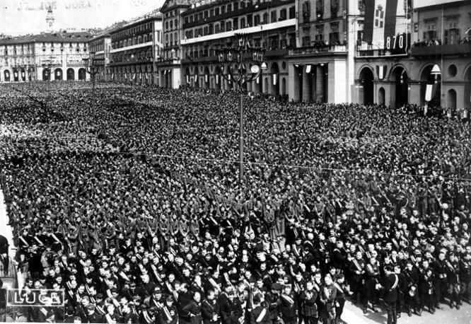 Torino, 1939: un discorso del Duce