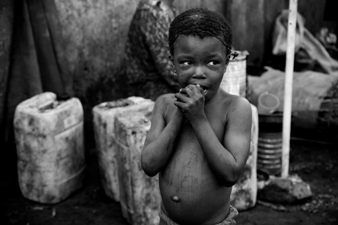 Repubblica Democratica del Congo. Mou, et� sconosciuta, allontanata da casa perch� accusata di stregoneria (Cristina Francesconi/Cesvi)