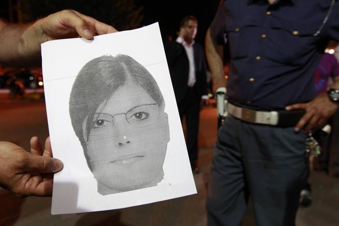 Il foto-identikit diffuso dalla polizia della donna che avrebbe rapito il neonato dall'ospedale di Nocera Inferiore