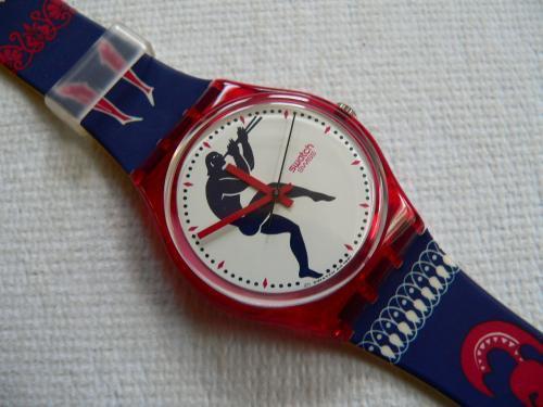 Un modello di Swatch