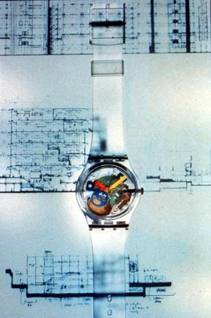 Lo Swatch disegnato da Renzo Piano