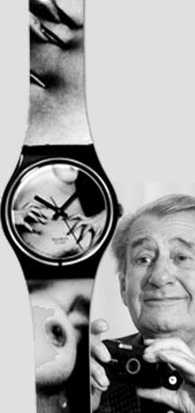 Lo Swatch firmato da Helmut Newton
