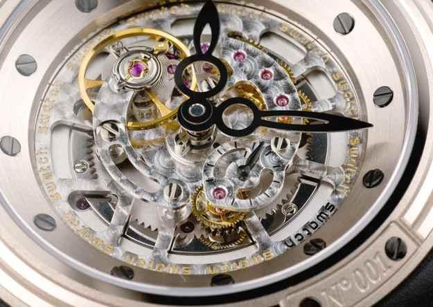 Swatch con meccanismo a vista
