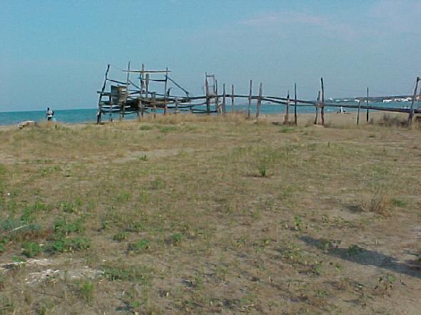 L'invasione della sabbia sulla costa