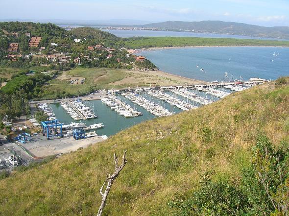 Cala Galera, vicino Porto Ercole