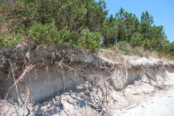 La spiaggia di Puntaldia, in Sardegna