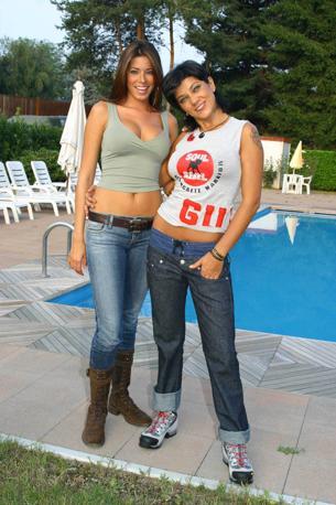Aida Yespica e Ana Laura Ribas (Newpress)