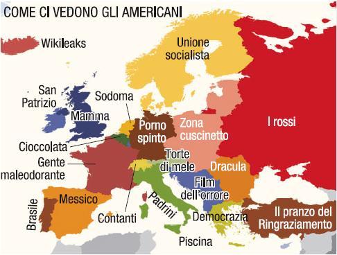L'Europa vista dagli americani