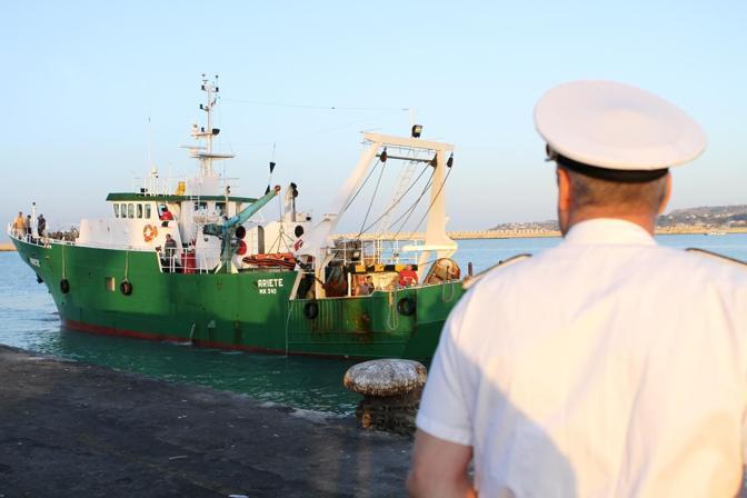 Martedì il rientro a Porto Empedocle del peschereccio «Ariete» (Arcieri)