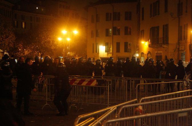 Disordini a Brescia (Davide Elias/IPA Photo)