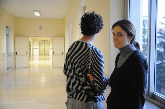 Cristiano in ospedale con la madre (Mario Proto)