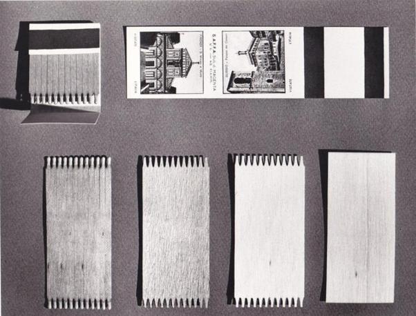 Dal pezzo di legno alla scatola di fiammiferi, la storia dei Minerva (Foto: Archivio Tunesi)