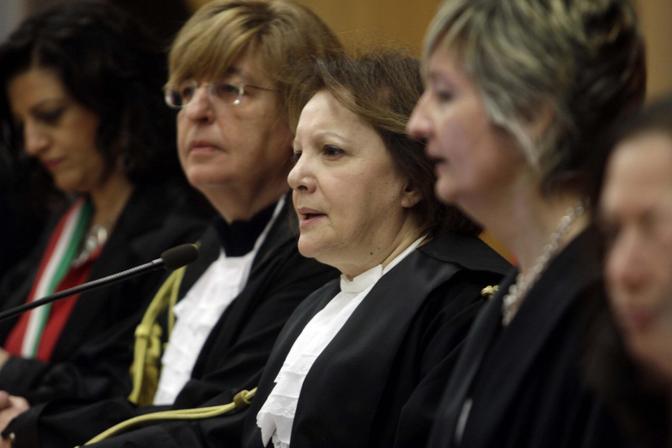 Il presidente del tribunale Maria Iannibelli Ferraro (Fotogramma)