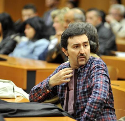 Ciro Argentino, ex operaio della Thyssen  (Fotogramma)