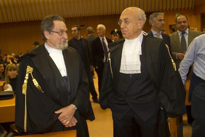 Il pm Guariniello, a destra (A. Ramella)