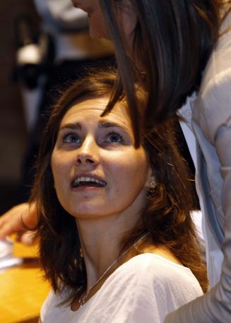 Nuova udienza a Perugia del processo di appello nei confronti di Amanda Knox (nella foto, Reuters) e Raffaele Sollecito, per l'omicidio di Meredith Kercher