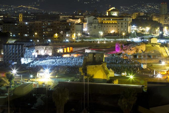 l concerto di Sting, sul lungomare di Palermo, ha celebrato la rinascita della città (Toni Compagno)