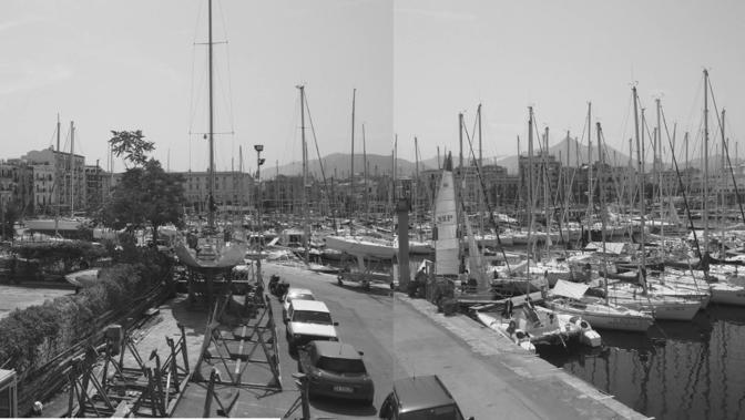 La Cala com'era (archivio Porto di Palermo)