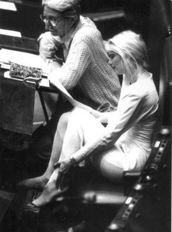 Agosto 1987, Cicciolina siede alla Camera dei deputati