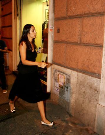 Anche la moglie di Tarantini, Angela Devenuto, è stata arrestata su ordine del gip di Napoli (JPEG FOTOSERVIZI)