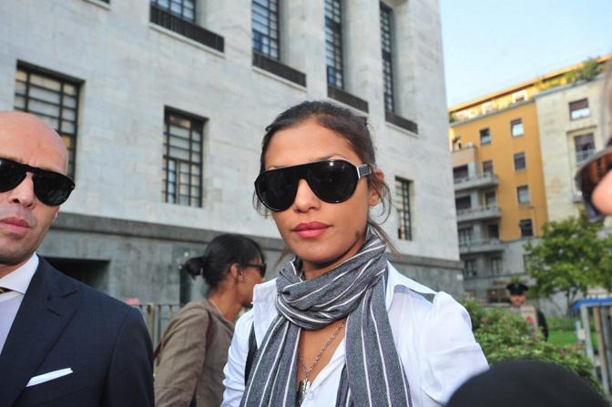 Imane è una delle 32 ragazze che sarebbero state indotte a prostituirsi nel corso dei presunti festini ad Arcore, nella residenza del premier Silvio Berlusconi (Fotogramma)