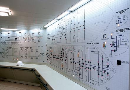 La sala controllo (Giorgio Bergami)