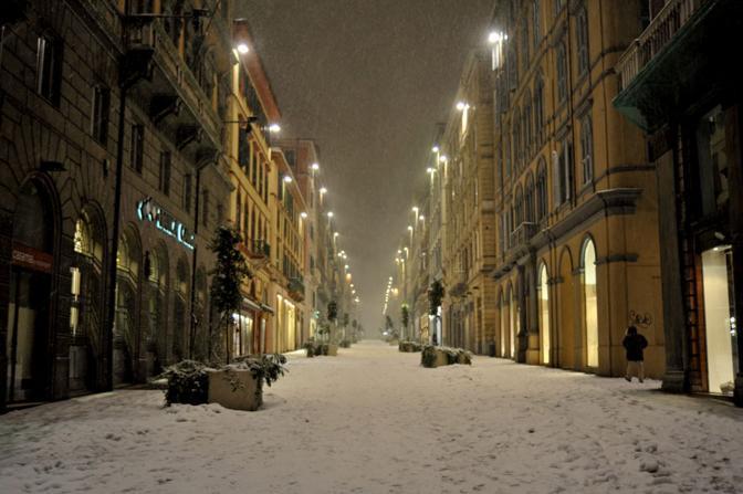 Il centro di Ancona (Ansa)