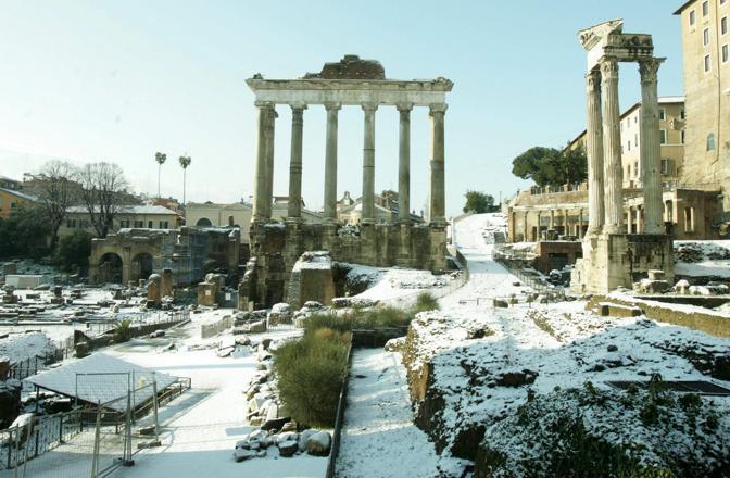 I Fori imperiali a Roma (Fotogramma/Maci)