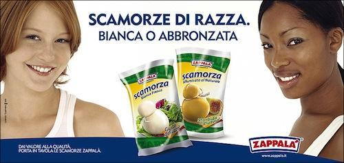 Ancora un prodotto Zappalà, presentato con slogan che riecheggia una celebre gaffe berlusconiana