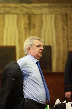 Un altro dei legali dell'ex premier Piero Longo (foto Enrico Brandi)