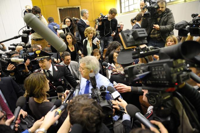 L'avvocato Longo, legale di Berlusconi (Enrico Brandi)