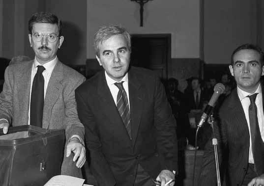 """Il """"mariuolo"""" Mario Chiesa (come lo definì Craxi) dalle sue denunce nacque Tangentopoli"""