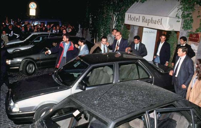 Hotel Raphael Craxi