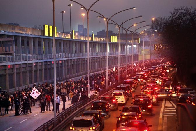 Il traffico diventa caotico (Eidon)
