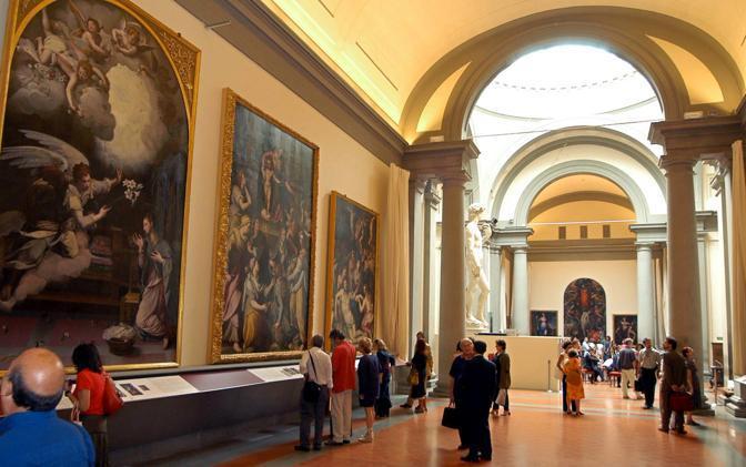 Galleria dell Accademia a Firenze (Ap)