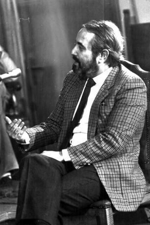 Aprile 1984, Falcone depone al processo per l'omicidio Chinnici a Caltanissetta (Foto Ansa - Archivio Corriere)