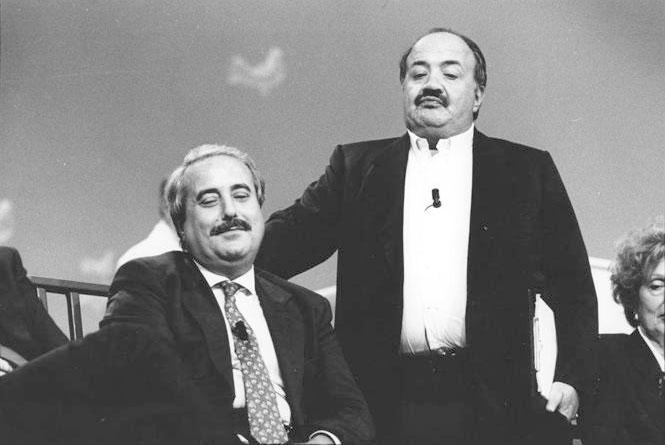 Al Maurizio Costanzo Show nel 1991 (Foto Sintesi - Archivio Corriere)