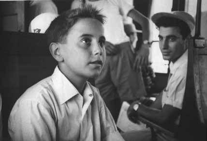 Giovanni Falcone a 14 anni (Labruzzo/Giacominofoto)
