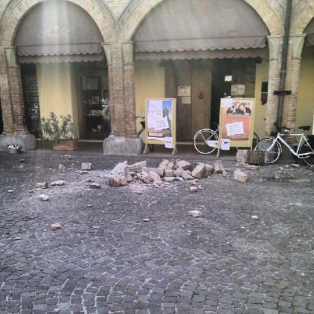 Piazza Guercino a Cento (Alberto Migliorini)