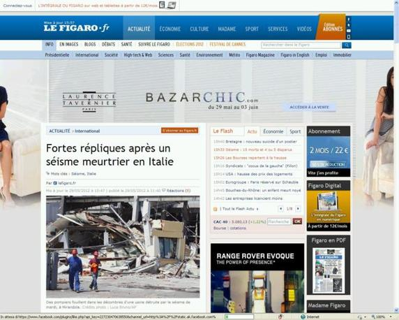 Il francese Le Figaro