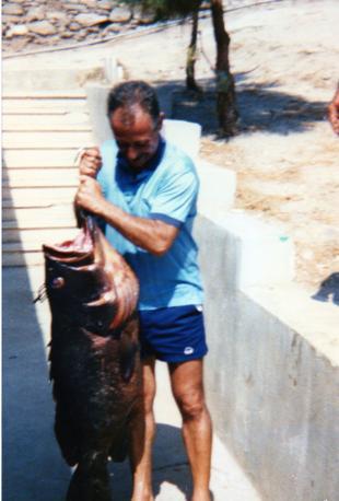Pesca grossa all'Asinara nell'agosto dell'85