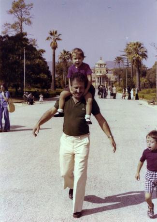 Palazzina Cinese a Palermo con Fiammetta e Manfredi nell'autunno del '76